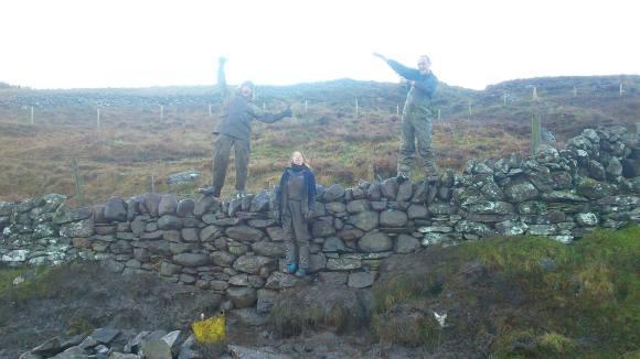 wall Pitcarmick Finished