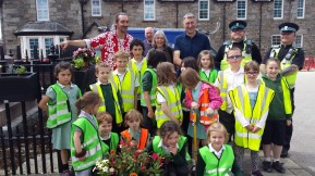 A thank you to the parking team & the young planters from Kinloch Rannoch Primary.