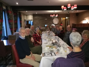 Volunteers at Christmas Lunch
