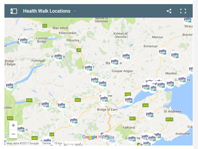PFA health walks