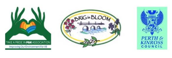 Brig in Bloom strapline