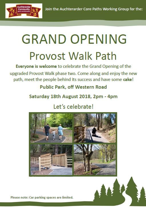Provost Walk opening
